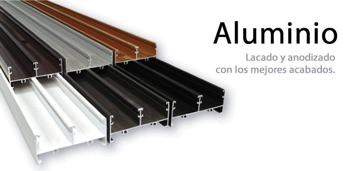 Comercializadora de aluminio az for Colores de perfiles de aluminio